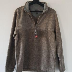 Van Heusen Flex Quarter Zip Fleece Pullover